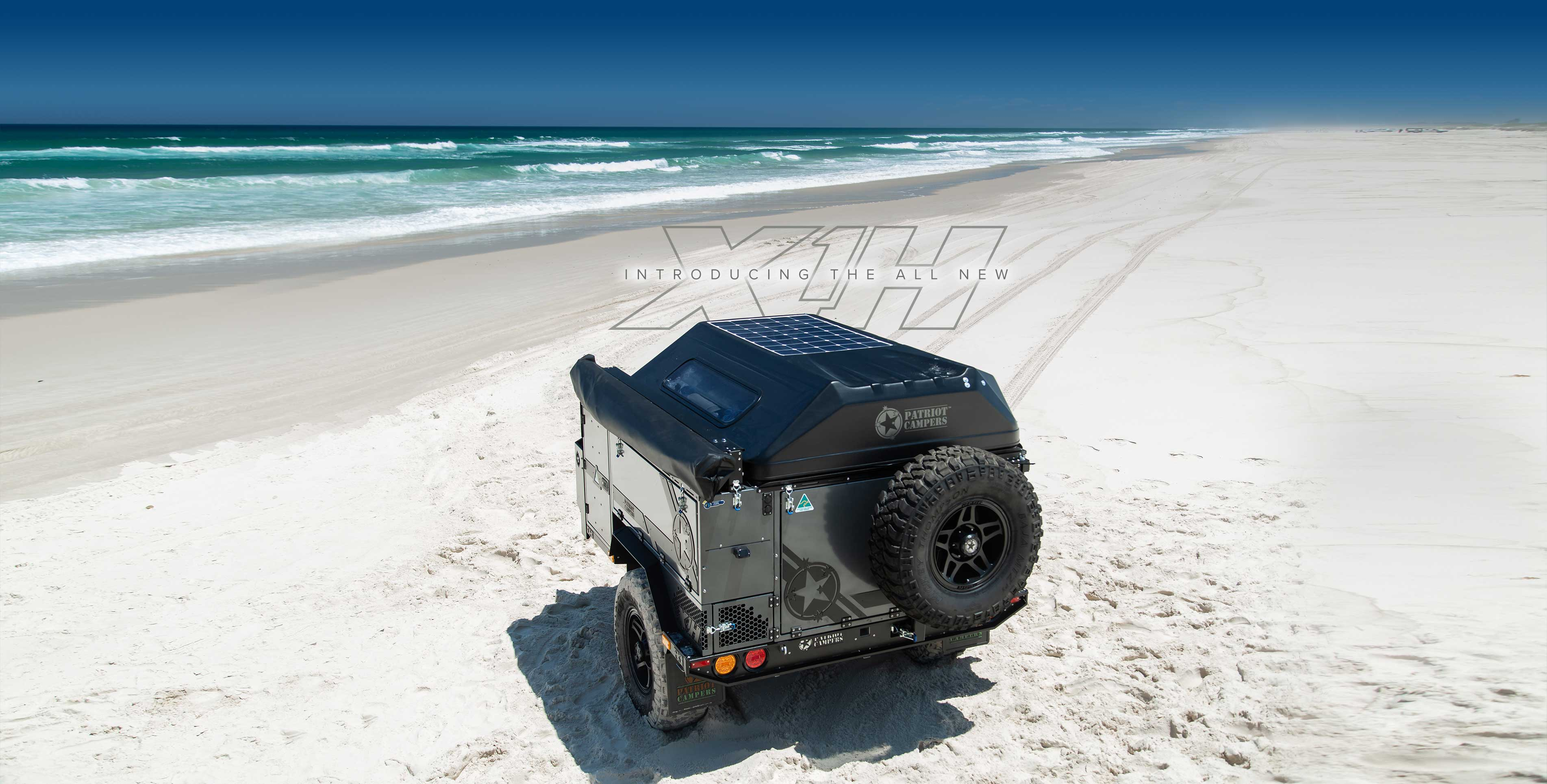 Patriot Campers - The Ultimate Off Road Camper Trailer  Built for