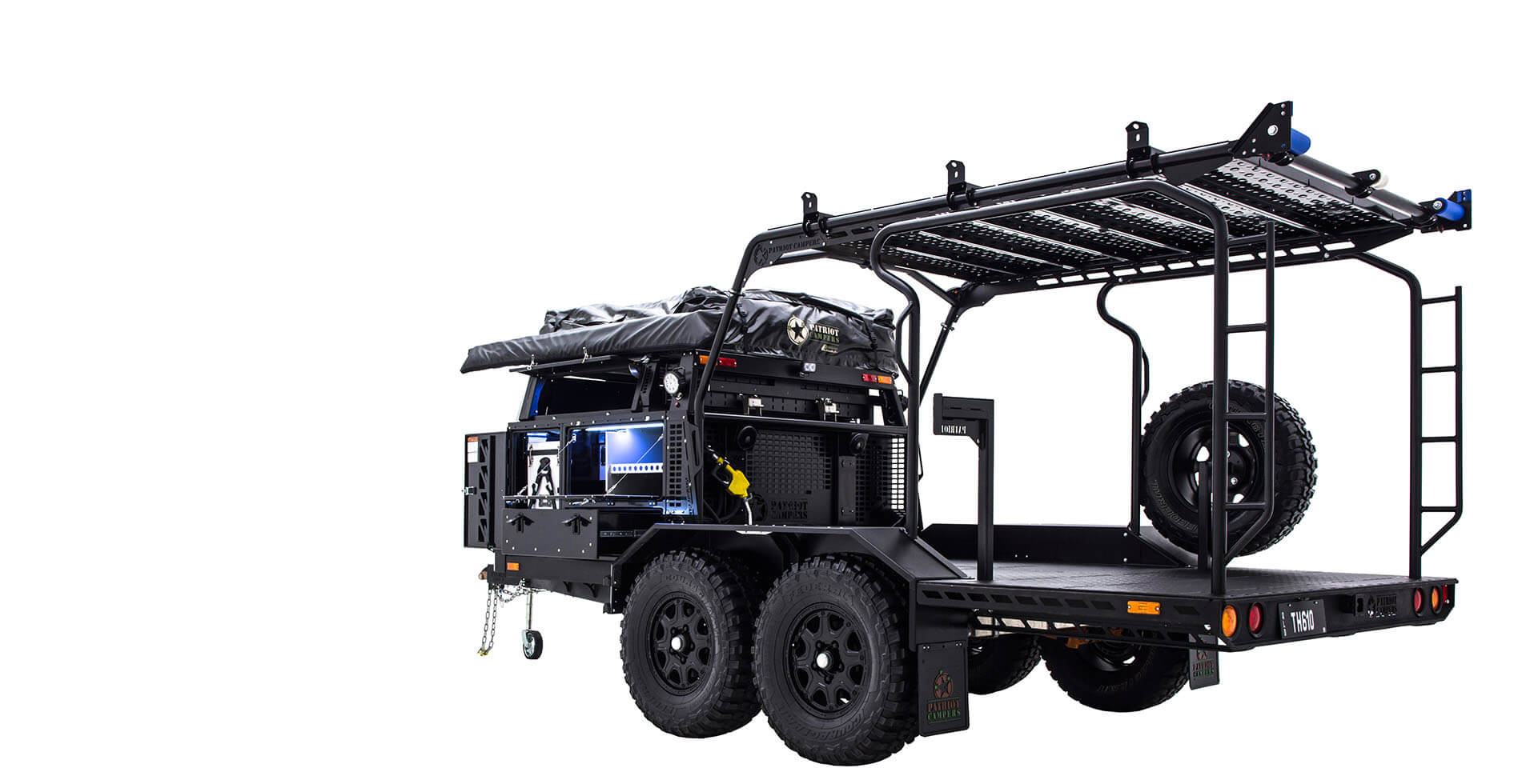 Water Tank Trailer >> TH610 - Patriot Campers