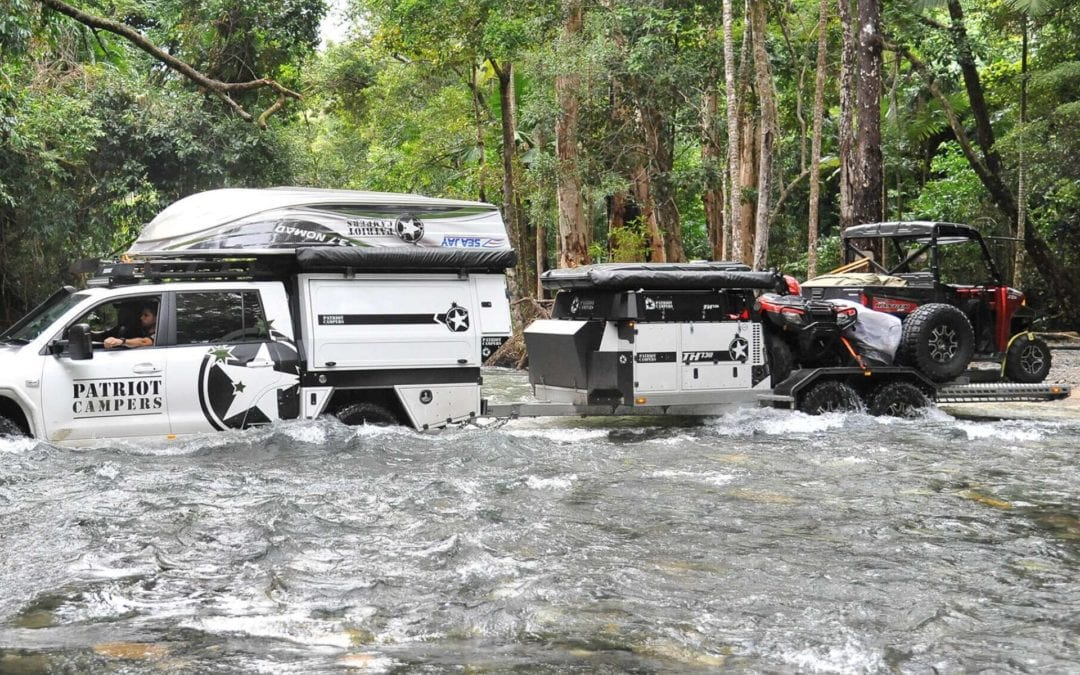 What makes a camper trailer off-road ready?