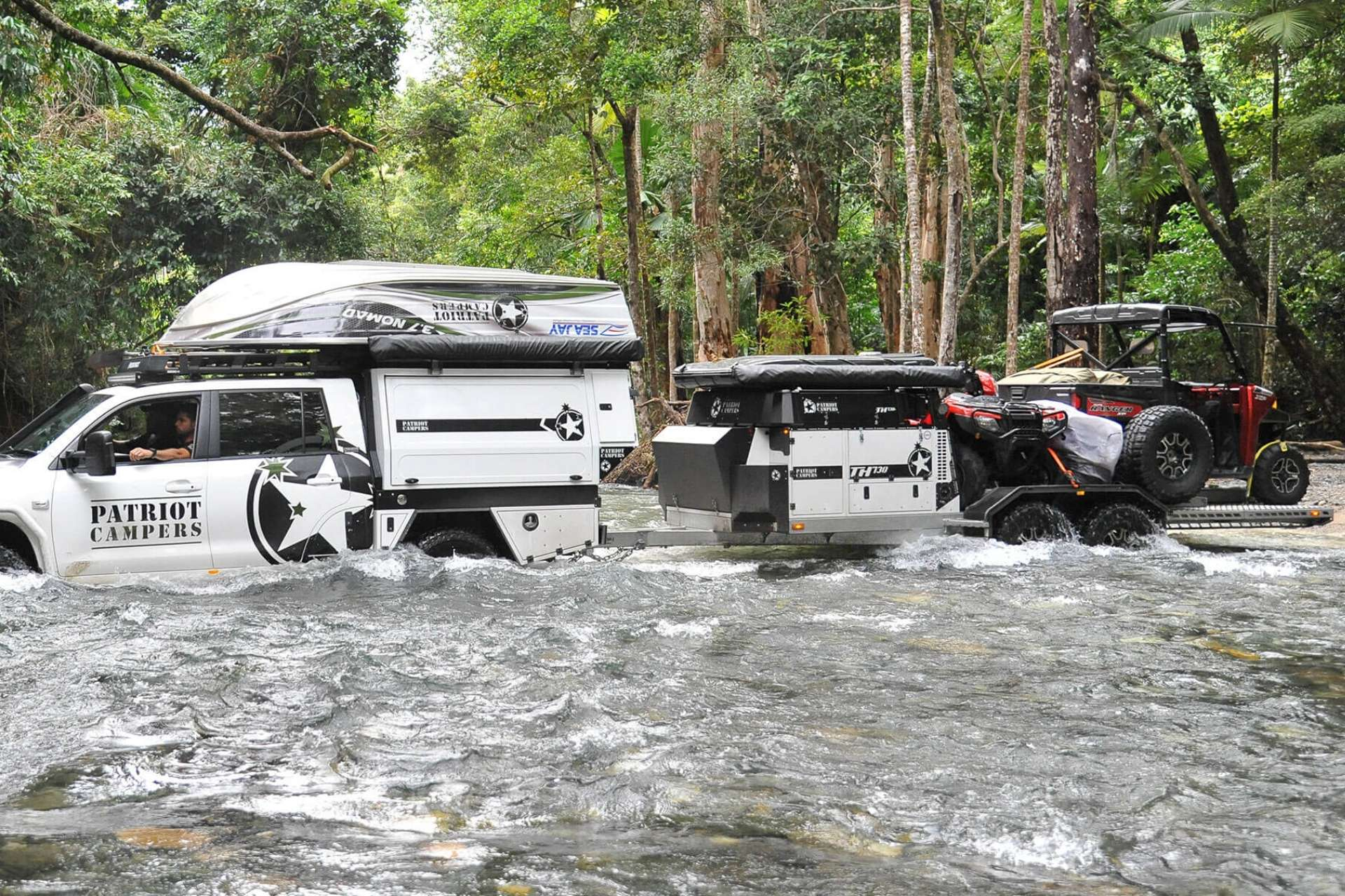 What Makes A Camper Trailer Off Road Ready Patriot Campers