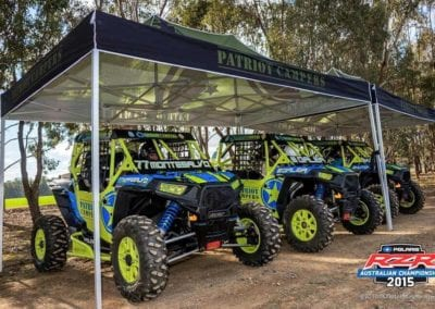 1ST & 2ND PLACE AT THE AUSTRALIAN RZR CHAMPIONSHIP - SEPTEMBER 2015